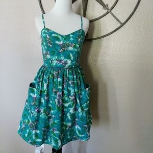 21 Twenty One sleeveless sundress, small